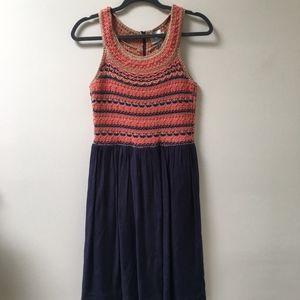 ANTHROPOLOGIE HD in PARIS Crochet Dress Medium